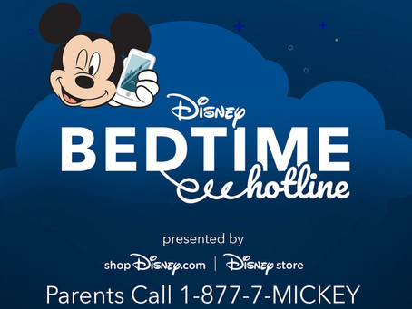 Add some magic to bedtime with a special message from Mickey Mouse
