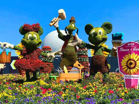 Photos: Topiaries take their places ahead of the Epcot International Flower and Garden Festival
