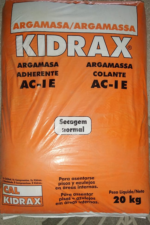 ARGAMASSA COLANTE KIDRAX  AC I 20KG