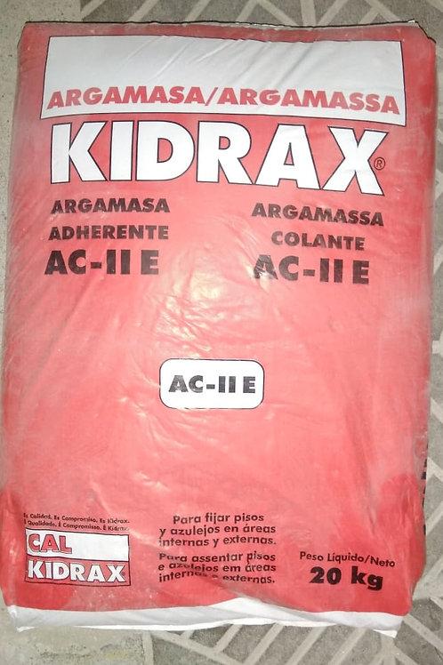 ARGAMASSA COLANTE KIDRAX  AC II 20KG