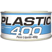 ADESIVO PLASTICO BRANCO PLASTIC 400