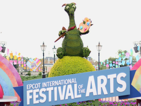 Familiar faces show up around Epcot's World Showcase for Festival of the Arts