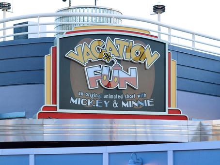 Grab the popcorn! 'Vacation Fun' short set to debut at Mickey Shorts Theater
