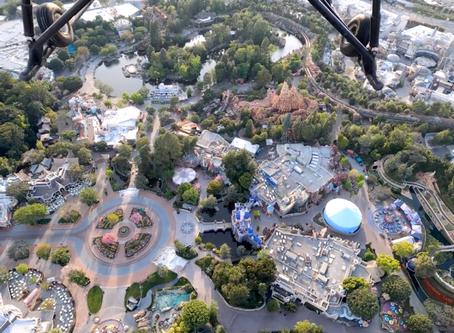 Helicopter pilot shares breathtaking view of Disneyland Resort during coronavirus closure