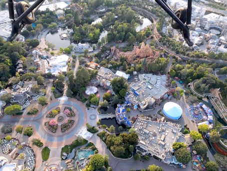 Helicopter pilot shares breathtaking view of Disneyland Resort during coronavirus closure