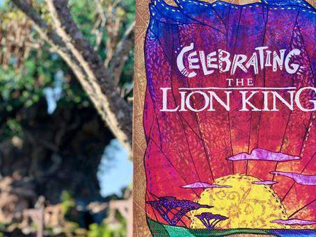 Lion King celebration kicks off at Disney's Animal Kingdom