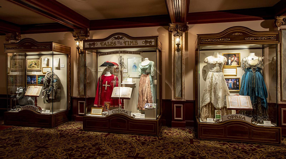 """""""Tales as Old as Time: French Storytelling on Stage and Screen"""" debuts Jan. 17, 2020, along with """"Beauty and the Beast Sing-Along"""" at the Palais du Cinéma in the France pavilion at Epcot (David Roark, photographer) (Walt Disney World)"""