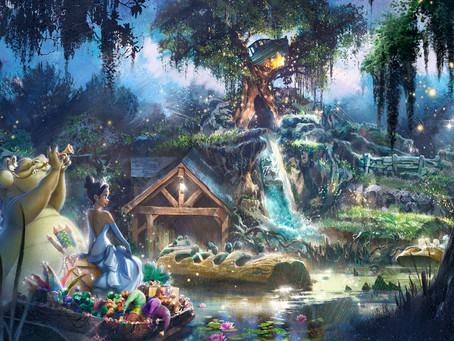 Are you ready? Disney's Splash Mountain gets re-themed to 'Princess and the Frog'