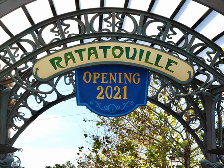 Disney World guests get a closer look at Ratatouille ride area