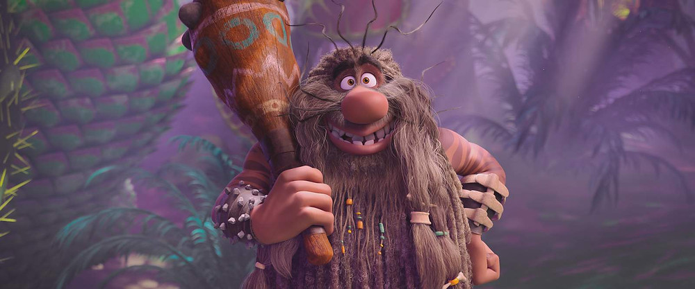 "Captain Caveman voiced by TRACY MORGAN in the new animated adventure ""SCOOB!"" from Warner Bros. Pictures and Warner Animation Group. (© 2020 Warner Bros. Entertainment Inc. All Rights Reserved.)"