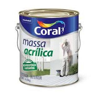 MASSA ACRILICA CORAL 3,6L (6,0Kg)