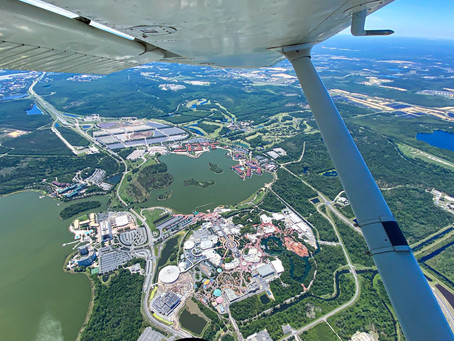 You can fly: Get a bird's eye view into a deserted Walt Disney World