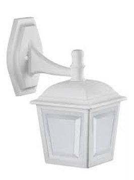 ARANDELA INJETADA CAPELINHA PARA 1 LAMP- BR/PT/IMB.