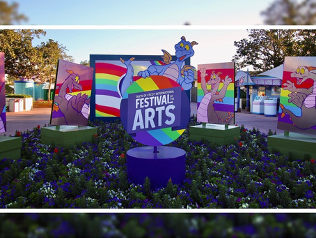 PHOTOS: Disney characters invade Epcot's World Showcase during Festival of the Arts