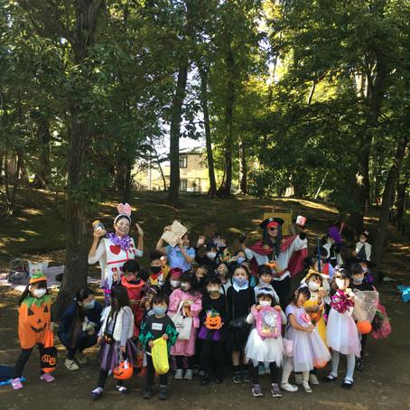東京調布市にて緑ヶ丘ハロウィン開催!