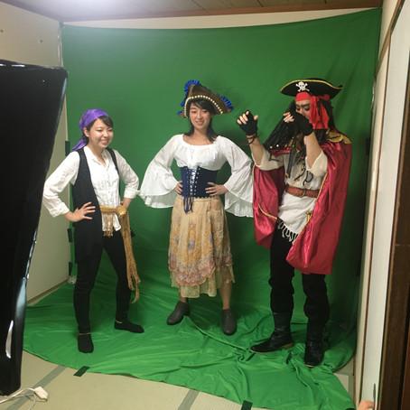 オンライン海賊ショーを制作中
