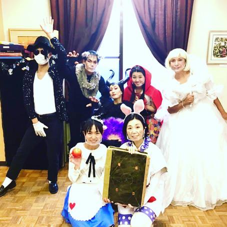 福岡にてハロウィン公演