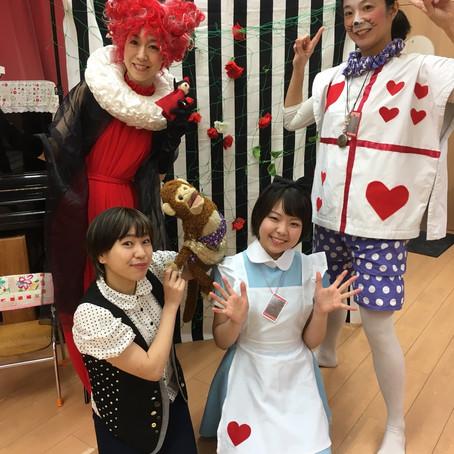 文京幼稚園で公演