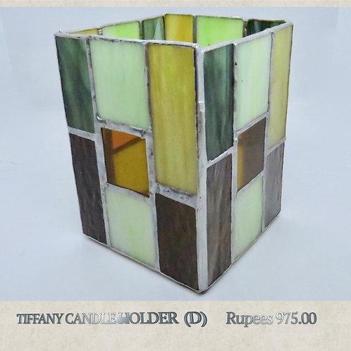 Tiffany Glass - Candleholder - D