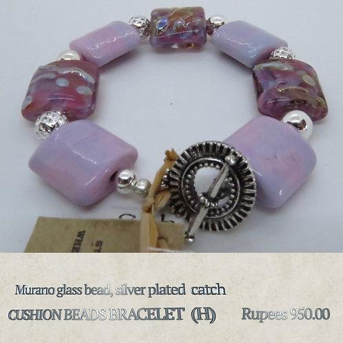 Cushion Beads Bracelet - H