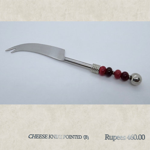Cheese Knife Pointed - B