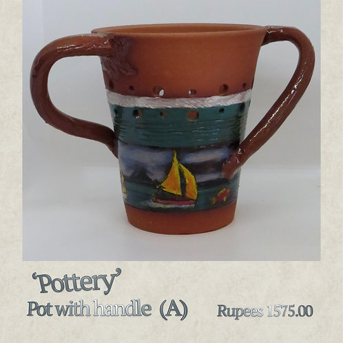 Pot with Handle - A