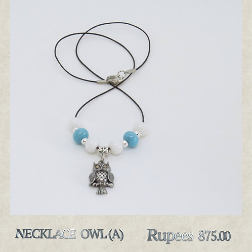 Necklace - Owl - A