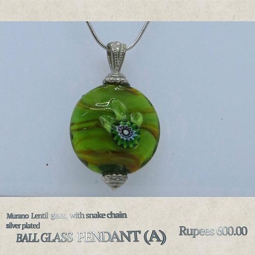 Ball Glass Pendant - A