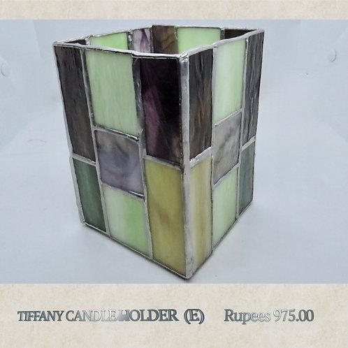 Tiffany Glass - Candleholder - E