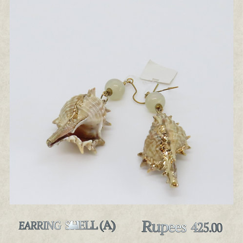 Earring - Shell - A