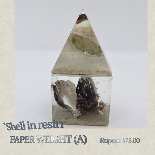 Resin - Paperweight - A