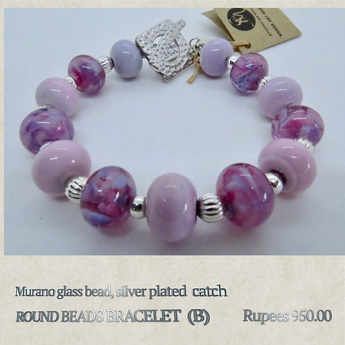 Round Bead Bracelet - B