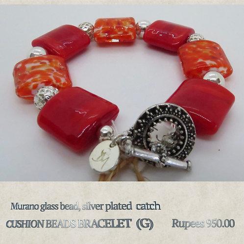 Cushion Beads Bracelet - G