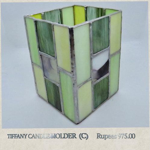 Tiffany Glass - Candleholder - C