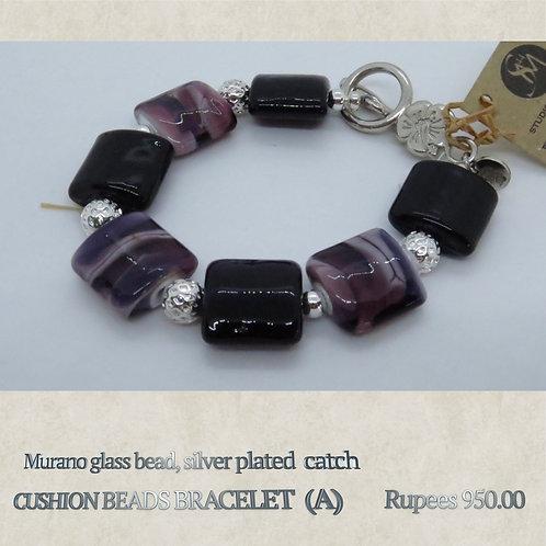 Cushion Beads Bracelet - A