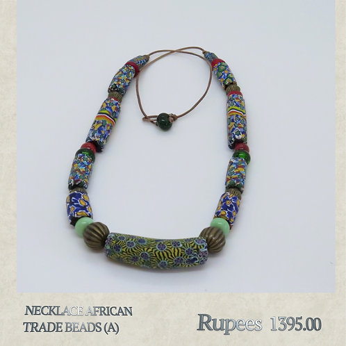 Necklace - African Trade Beads - A