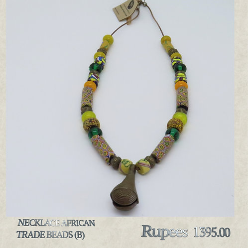 Necklace - African Trade Beads - B