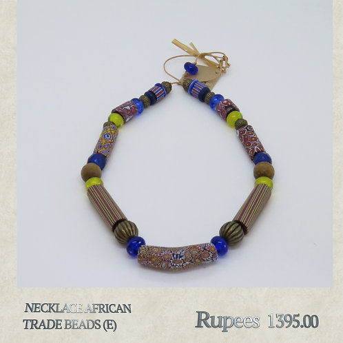Necklace - African Trade Beads - E