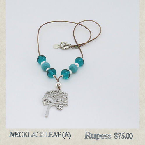 Necklace - Leaf - A