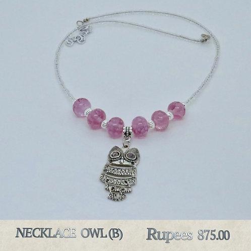 Necklace - Owl - B