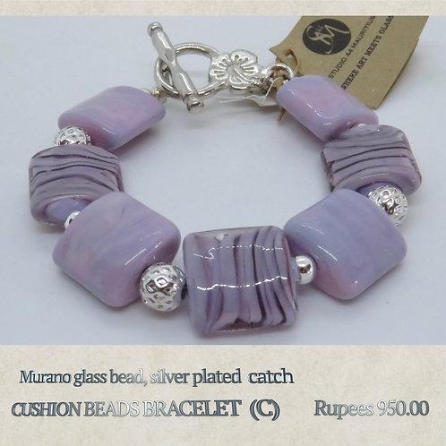 Cushion Beads Bracelet - C
