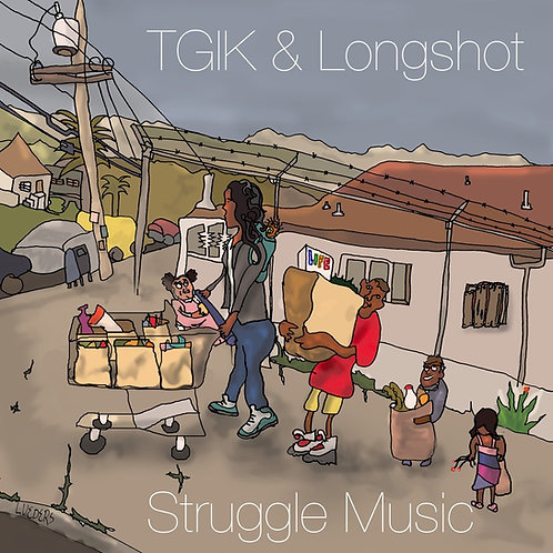 'Struggle Music' cd