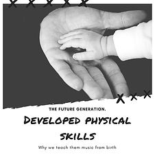 Devloped physical skills