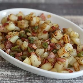 Quick roast turkey with potatoes