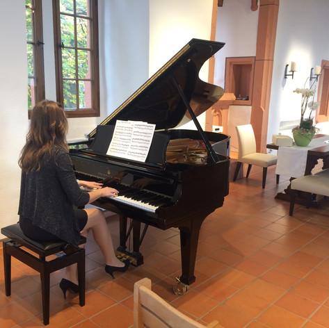 Klavierspieler Hochzeit