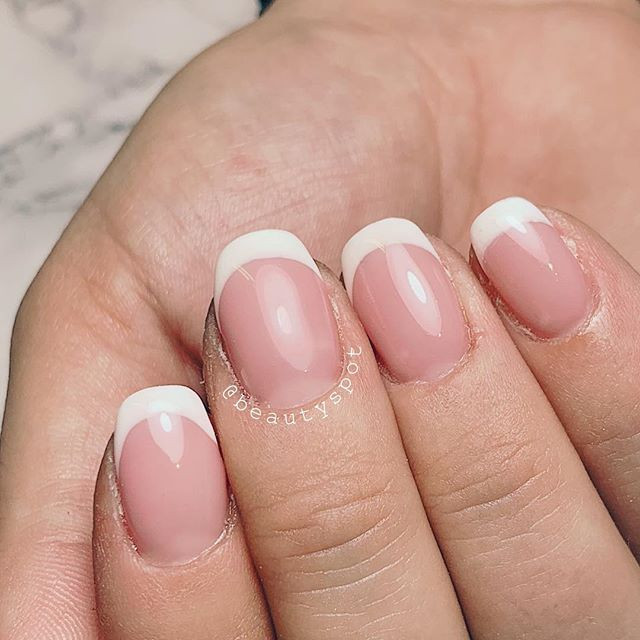 French manucure 💅🏼 ._._._#beautyspotna