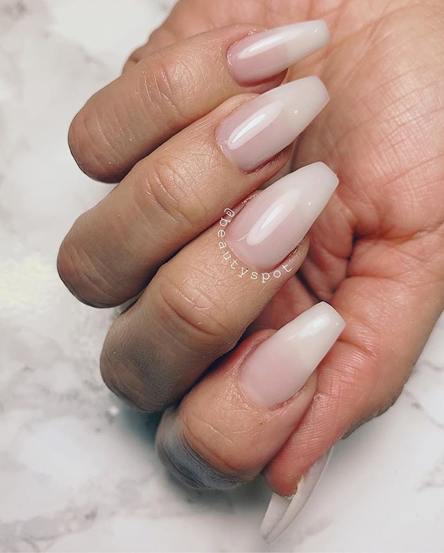 Perfection 💖_Nail extensions with tips