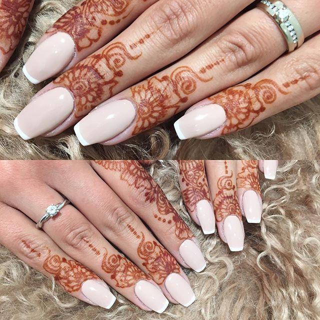 Wedding Bells 🕊 #nails #beautyspotnails