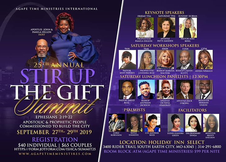 25th Annual Stir Up the Gift Summit