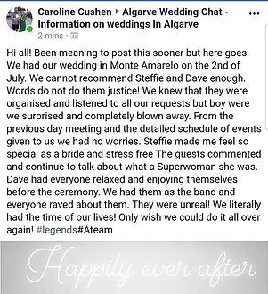 #ATeam  _wedding_planner_algarve #feedba